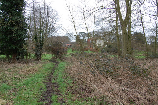 Footpath leading to Bird's Farm, Aldringham