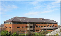 SH4862 : The Arfon District Council Offices from Twthill West by Eric Jones