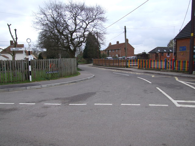 School Road, The Tivetshalls