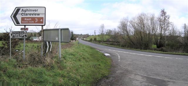 Road at Glenkeen by Kenneth  Allen