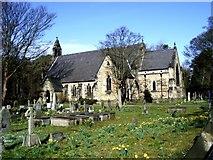 SD2806 : Parish Church of St Luke's, Formby by Tom Pennington