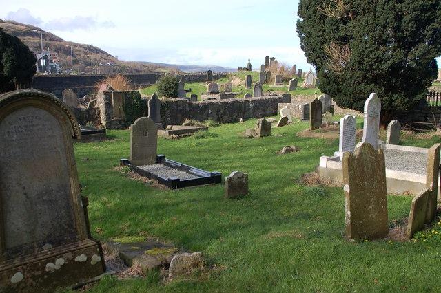 Old graveyard, Glenarm