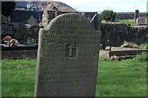 D3115 : Headstone, old graveyard, Glenarm (3) by Albert Bridge