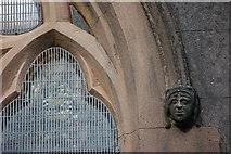 D3115 : Head, St Patrick's, Glenarm (2) by Albert Bridge