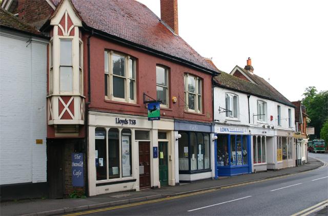 West side of Bramley High Street