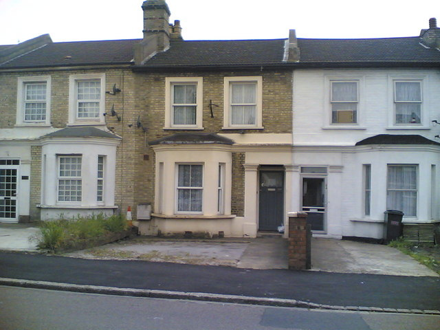 Victorian terraced houses on Birchanger Road, South Norwood