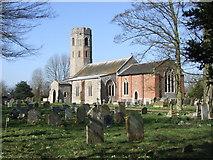 TM2692 : St. Margaret's Church, Topcroft by Ian Robertson