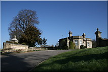 TM0576 : Gatehouse to Redgrave Park by Charles Greenhough