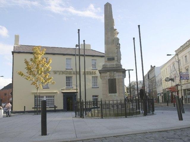 Dunraven Place, Bridgend