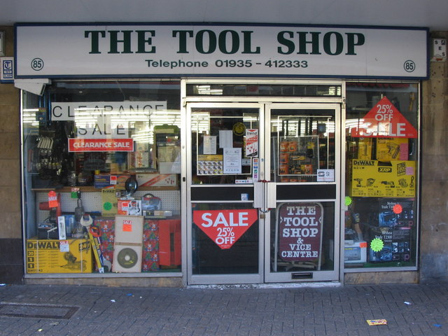 The Tool Store >> The Tool Shop Yeovil C Phil Williams Geograph Britain