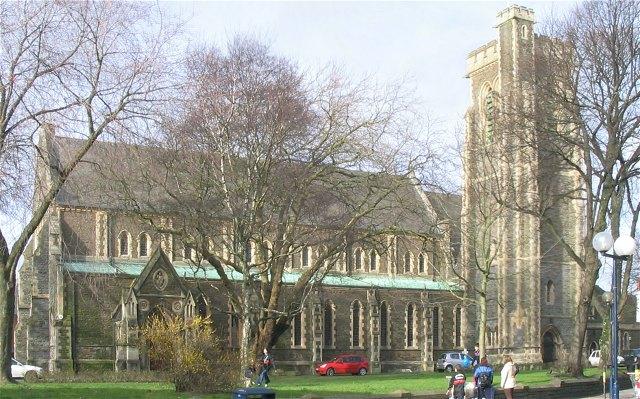 St Mary's Church, Swansea (Recreated)