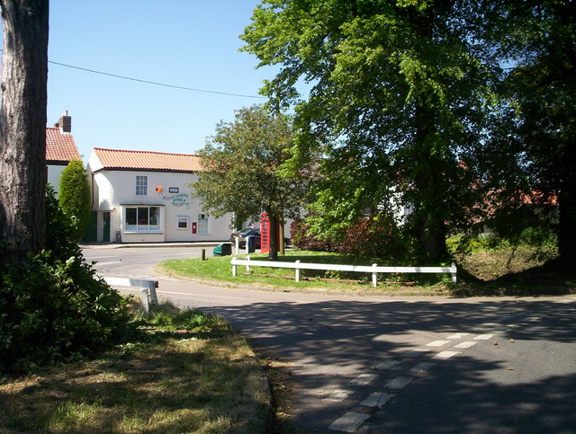View of village shop and Post office