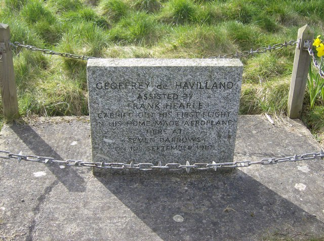 Geoffrey de Havilland first flight memorial