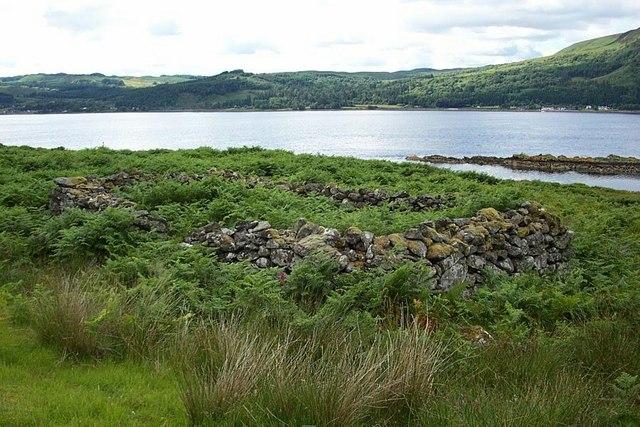 Ruined Chapel, East Shore of Loch Fynne