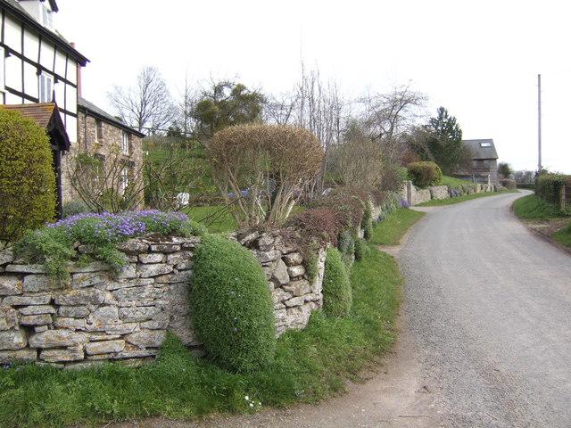 Roman Road - Offa's Dyke intersection