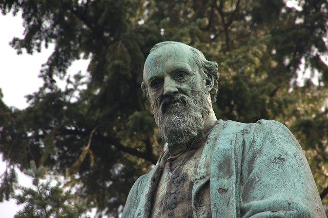 Kelvin statue, Belfast (detail)