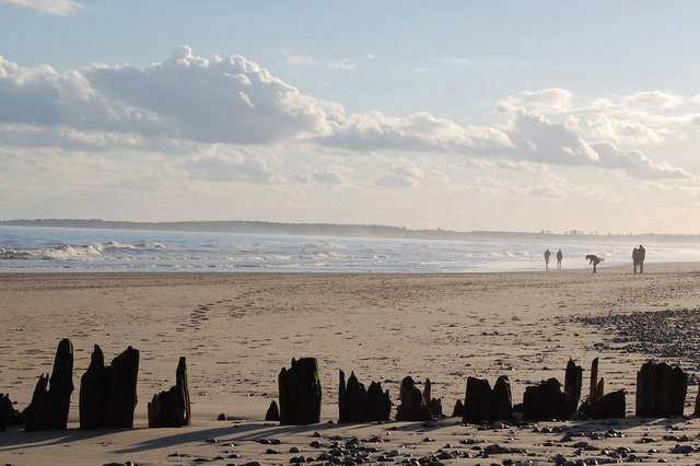 The Beach at Walberswick