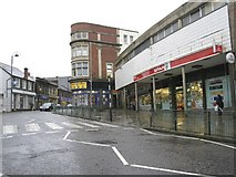 ST1599 : High Street, Bargoed (Facing South) by Kev Griffin