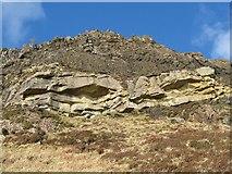 NG5139 : Ben Tianavaig crags by John Allan