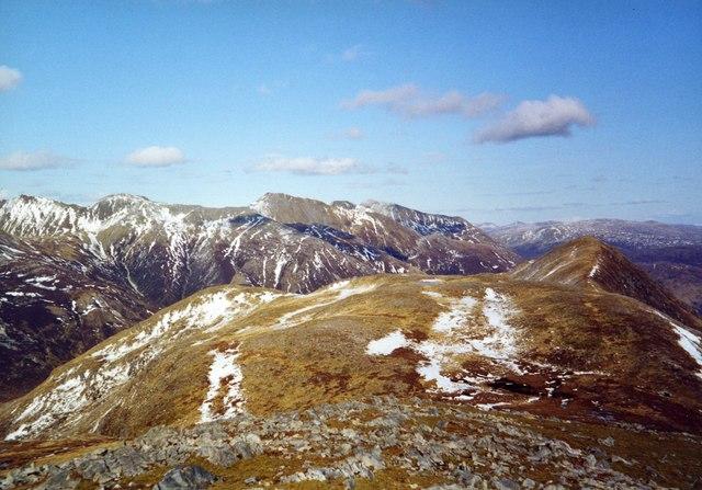 View East from Mam na Gualainn