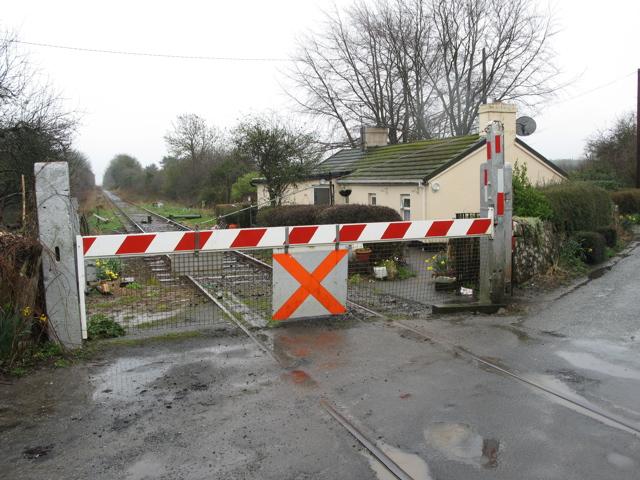 Level Crossing, Limerick-Foynes Railway, Copay, Co. Limerick