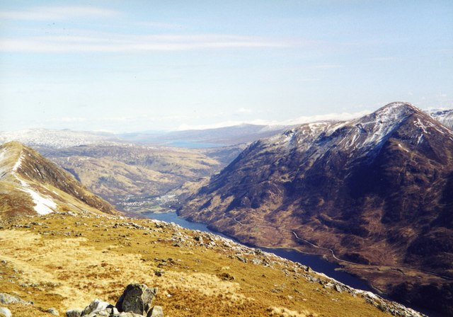 View over Kinlochleven.
