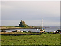 NU1341 : Lindisfarne Castle by Mel Evans