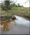SJ6755 : Wistaston Brook, east of Marshfield Bridge by Espresso Addict