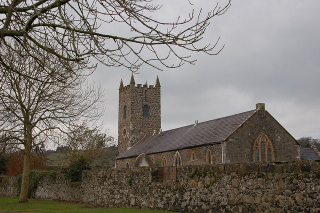 St Cedma's parish church, Larne