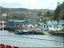 NM8529 : Entering Oban Harbour by Jill Everington