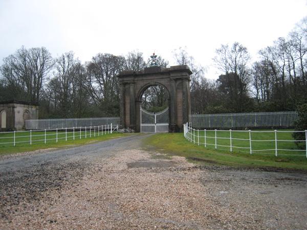 Gates to Rossdhu House