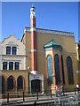 TQ4084 : Forest Gate: Quwwat ul Islam Masjid, E7 by Nigel Cox