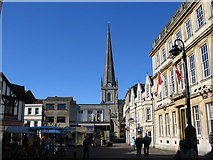ST8557 : Fore Street, Trowbridge by Phil Williams
