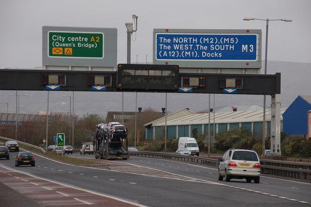 The M3, Belfast