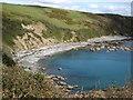 SX2451 : Looe: beach at Portnadler Bay by Brian