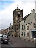 NU1813 : Alnwick Town Hall by Gordon Hatton