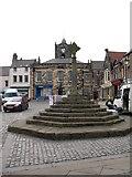 NU1813 : Market Cross, Alnwick by Gordon Hatton