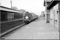 J3582 : Whiteabbey Station (1979) by Wilson Adams