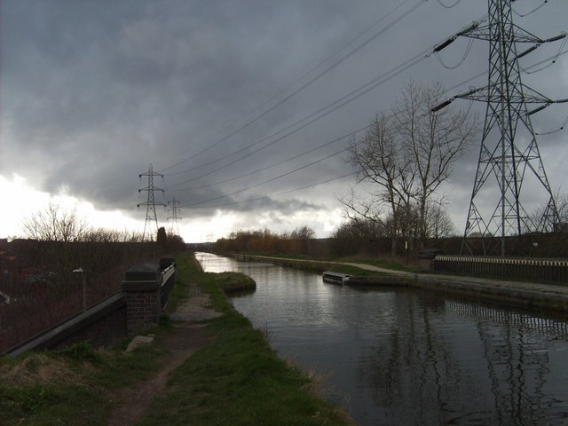 Storm Clouds Over Tame Valley