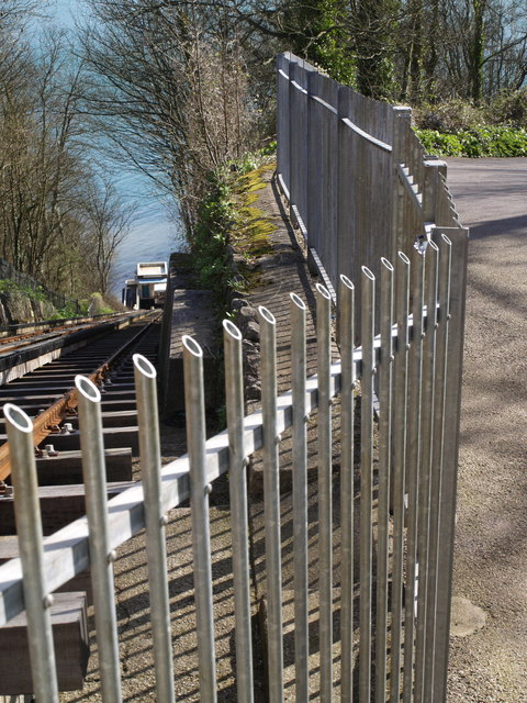 Top of Babbacombe Cliff Railway