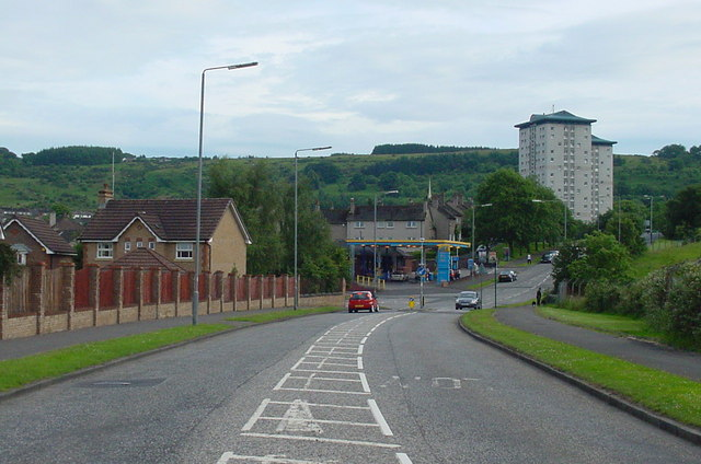 Paisley - Glenburn - Gleniffer Road (heading south to Gleniffer Braes)