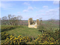 NT6322 : The remains of Timpendean Tower by Walter Baxter