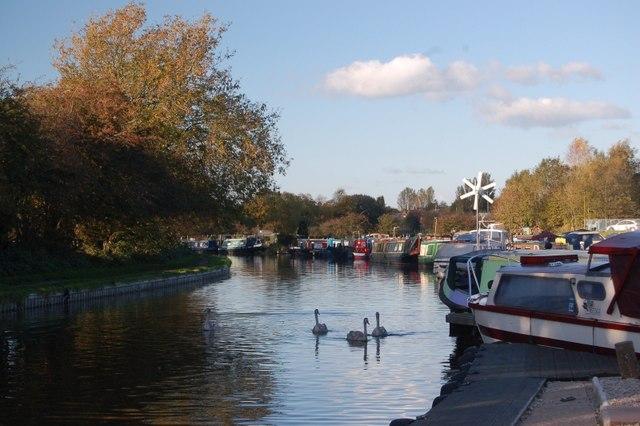 White Bear Marina, on the Leeds & Liverpool Canal, Adlington, Chorley, Lancashire.