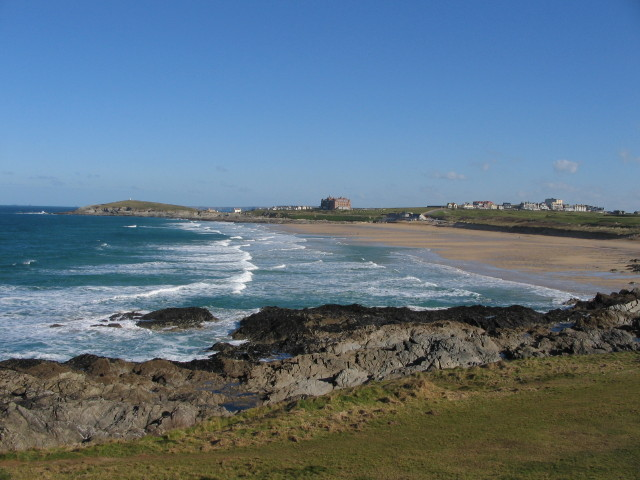 Newquay: Fistral Beach in winter