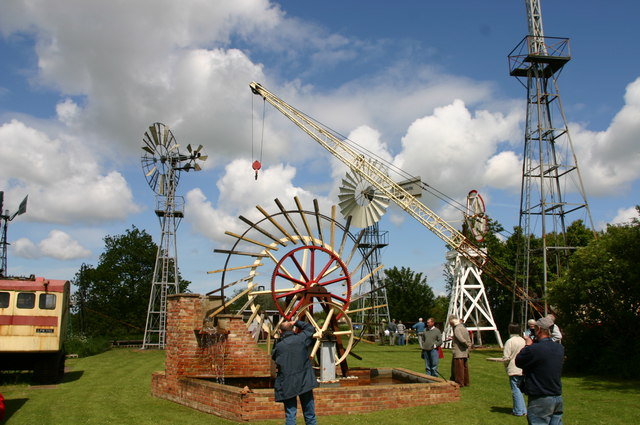 The Morse windpump collection at Repps