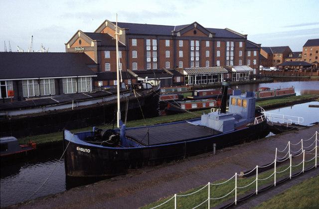 Basuto (Clyde puffer), Ellesmere Port.