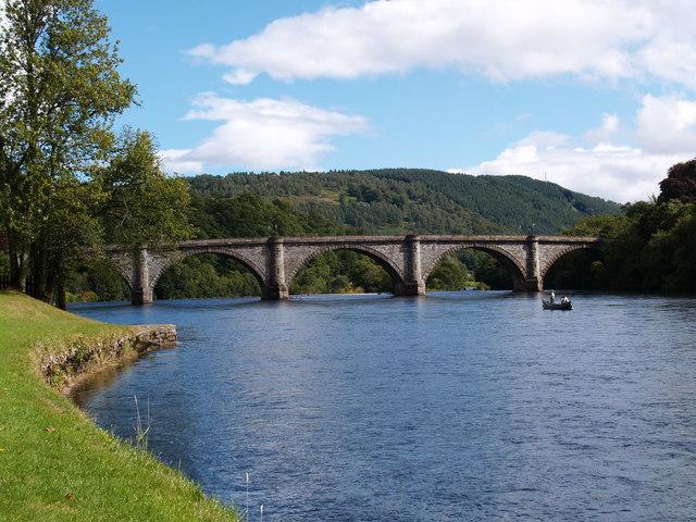 The Bridge of the River Tay at Dunkeld