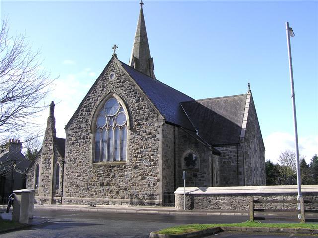 Castlederg RC Church.