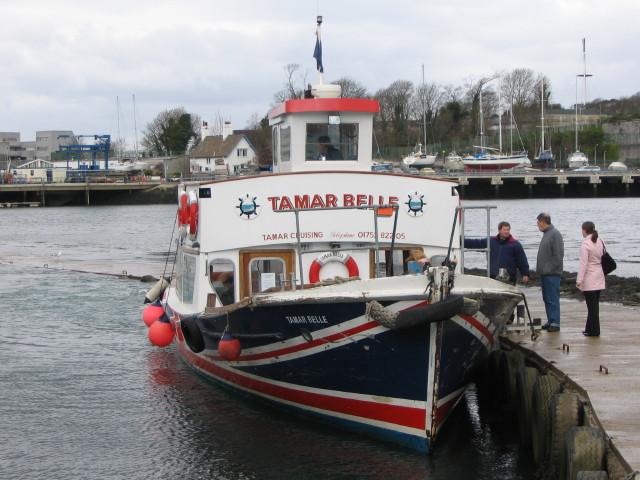 Tamar Belle, Cremyll Ferry