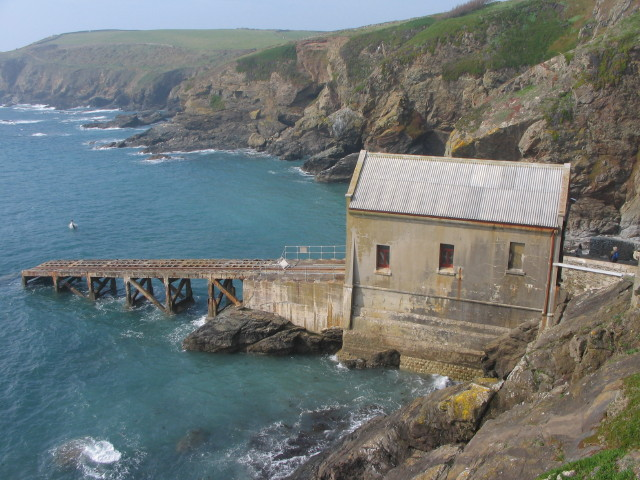 Lizard old Lifeboat House